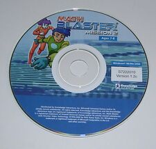 Math Blaster Mission 2 Race for Omega Trophy Windows PC CD-ROM Adventure Game