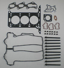 HEAD GASKET SET BOLTS AGILA CORSA 1.0 Z10XEP 03 on C D TWIN PORT VAUXHALL OPEL
