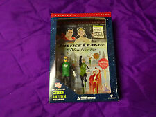 "DC The New Frontier GREEN LANTERN 3.5"" DVD with Action Figure  BRAND NEW"
