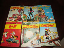 Lucky Luke comics SC and 1 HC 18 ea total lot in French