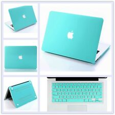 "Rubberized Hard Case+ Keyboard Cover for Macbook 12"" Pro 13""/15"" Air 11""/13""inch"