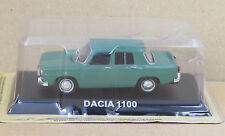 "DIE CAST "" DACIA 1100 "" LEGENDARY CARS SCALA 1/43"