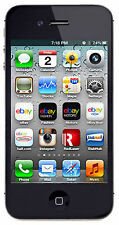 Apple iPhone 4s - 8GB Black (Unlocked) Smartphone Verizon Straight Talk At&t