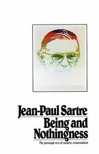 Being and Nothingness by Jean-Paul Sartre (1993, Paperback)