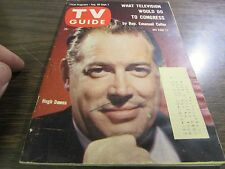 VINTAGE - TV GUIDE AUG 26TH 1961 - HUGH DOWNS  - EXCELLENT