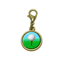 Golf Ball Cute Bracelet Pendant Charm