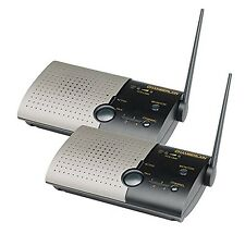 Chamberlain Wireless Portable Digital Intercom System (2 Pack) Free Shipping New