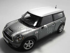 1:18 Kyosho Mini Cooper Die Cast Model Silver