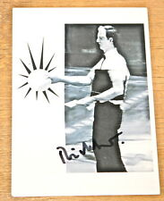 GERHARD RICHTER ~ OSWALD ~ AUTHENTIC GENUINE HAND SIGNED GERMAN ART POSTCARD