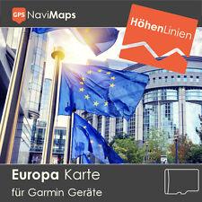 Topo Karte EUROPA Deutschland Garmin Edge 800 810 1000 Touring Plus Etrex 20 30