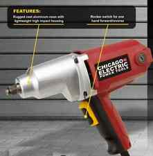 1/2 in. Heavy Duty Electric Impact Wrench = PLUS FREE GIFT =