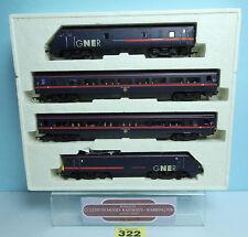 HORNBY 'OO' GAUGE R2002 'GREAT NORTH EASTERN RAILWAY 225' TRAIN PACK BOXED #322Y