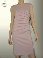 IVANKA TRUMP Women Dress Size 8 WOOD ROSE Knee Sleeveless Dressy NEW