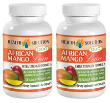 African Mango Lean 1200mg Extract with Resveratrol (2 Bottles)