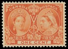 "CANADA 51 - Queen Victoria Jubilee ""Orange"" (pf91268)"