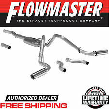 Flowmaster 817602 2011-2017 Chevy Silverado 1500 6.2L Cat Back Exhaust System