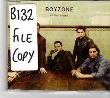 (FP185) Boyzone, All That I Need - 1998 DJ CD