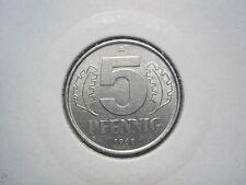 DDR 5 Pfennig 1968 A  (615)