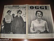 RIVISTA OGGI 1955/18=ANNA GRAZIA CICOGNANI=MARIA PIA DI SAVOIA=IL BEL BRUMMELL=