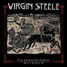 VIRGIN STEELE / THE HOUSE OF ATREUS ACT I & ACT II * NEW 3 CD BOX-SET * NEU *