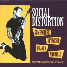 Social Distortion - Somewhere Between Heaven and Hell / SONY CD 1992