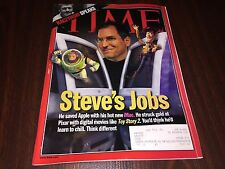 TIME MAGAZINE - STEVE JOBS APPLE DISNEY PIXAR IMAC TOY STORY 2 OCTOBER 18 1999