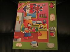NEW- MINI DICTIONNAIRE FRENCH-ENGLISH Mots De La Maison- Book with stickers