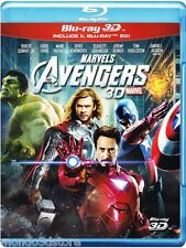THE AVENGERS 3D (BLU-RAY 3D + 2D) con Samuel L. Jackson, Robert Downey Jr.