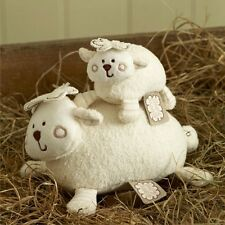 Brand New Natures Purest Sleepy Sheepy Mother Lamb Natural Cotton Baby Boy Girl