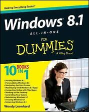 Windows 8.1 All-in-One For Dummies, NEW paperback, FREE Shipping!