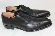 Mens To Boot New York 'David' Cap Toe Oxfords - Black - Size 11.5 - 2188 (Q