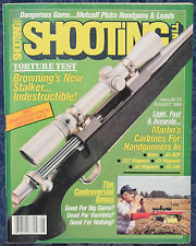 Magazine SHOOTING TIMES, August 1988 ! BROWNING Stainless STALKER A-Bolt RIFLE !