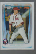 MIKE WRIGHT 2011 BOWMAN CHROME DRAFT PICKS & PROSPECTS REFRACTOR #BDPP 11