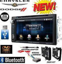2009 - 2012 DODGE RAM BLUETOOTH DVD CD VIDEO USB Double Din Radio Stereo