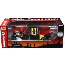Autoworld AW233 George Barris The Barris Munsters Koach 1:18 Diecast Model Black