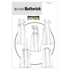 BUTTERICK SEWING PATTERN MISSES' APRONS SIZES S - L   B5509