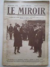 LE MIROIR 55 GUERRE 1914-1918 WWI JOFFRE GARROS GOUMIERS CASABLANCA CANAL SUEZ