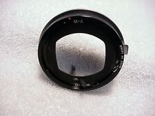 Bushnell Automatic Lens Mount for Exakta Camera | Very Nice |Works Well