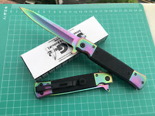 SOG Assisted Opening Colorized Folding Pocket Knife Survival Rescue Saber Gift a
