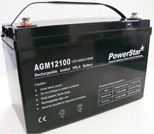 HY12-100 12V 100AH AGM SLA DEEP CYCLE BATTERY FOR SOLAR WIND VRLA 12V 24V