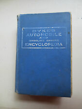 1920 Dykes Auto Encyclopedia for Model T Ford Buick Dodge Chev Packard 900+pages