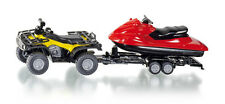 Siku Super 2314 Quad with Trailer and Snow Mobile Jet-Ski Model
