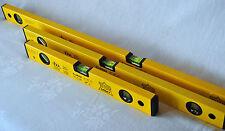 3er Set Wasserwaagen Wasserwaage Aluminium Top Craft 100, 60 und 40 cm / NEU!