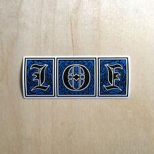 Cliche 101 vinyl sticker decal Supreme Marc McKee 90s bumper Natas Kaupas SK8