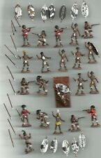 1/72 20mm Painted Soldiers ZULU WARRIORS x 21