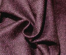 Purple and Black Pure Wool Tweed Suiting from Italy!!