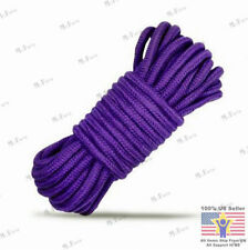New 2016 Purple 10M Fantasy Fetish Soft Cotton Bondage Rope Strap Restraints