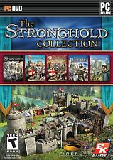 The Stronghold Collection 1 2 and Crusader Crusader Extreme  Legends 5 games PC
