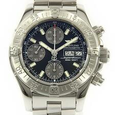 Authentic BREITLING A13340 A111B77PRS Chrono Super Ocean Automatic  #260-000-...