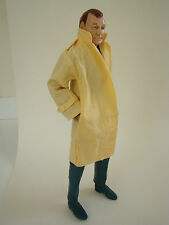 Marx Mike Hazard Double Agent Yellow Trench Coat Only NO ACTION FIGURE Cotton